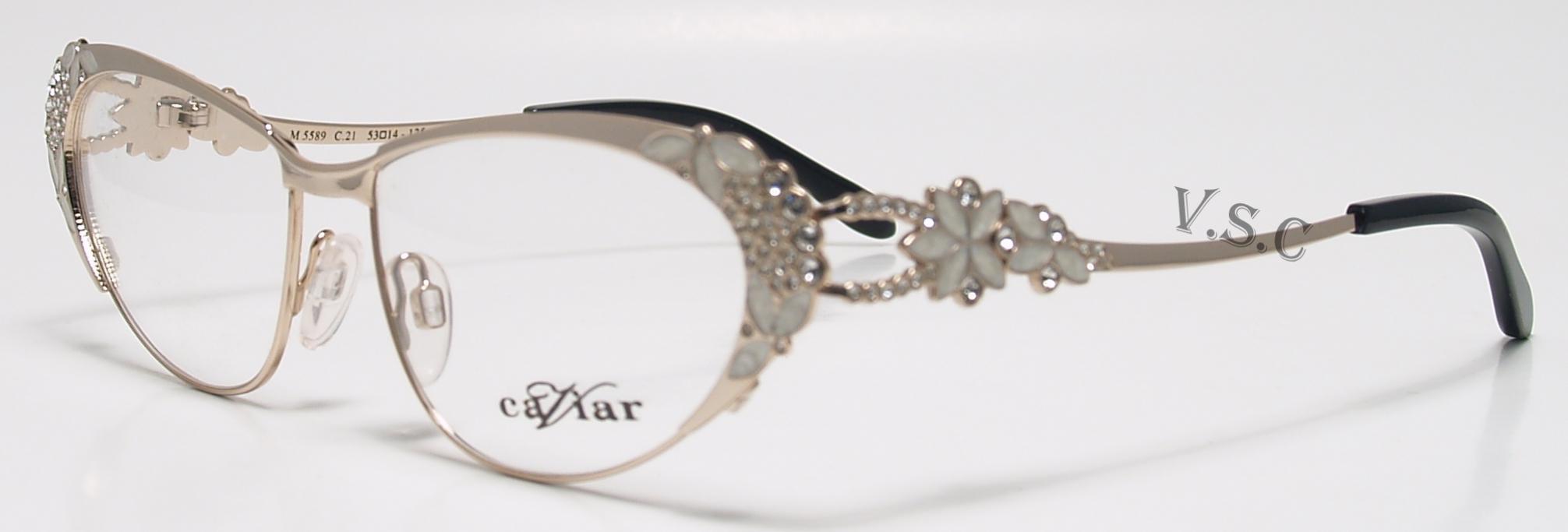 Buy Caviar Eyeglasses directly from eyeglassesdepot.com