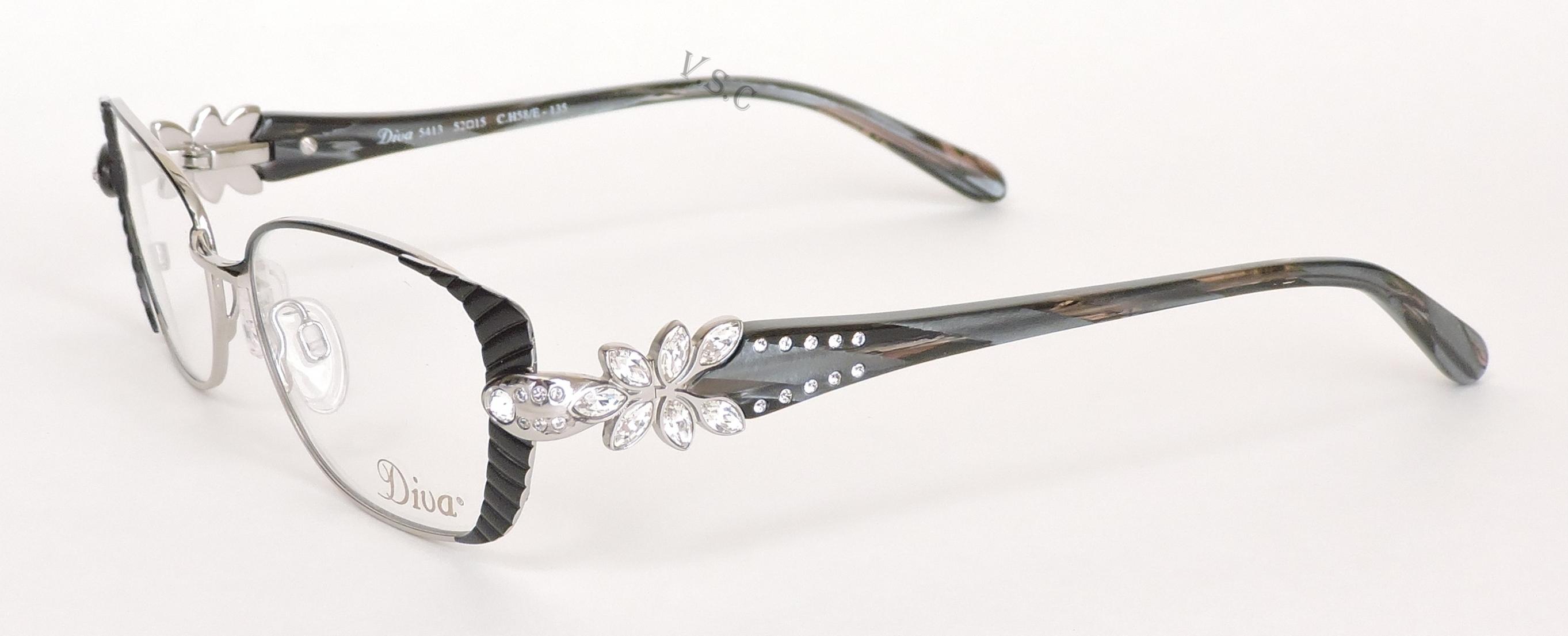 Amazing Diva Eyeglass Frames Pattern - Picture Frame Ideas ...
