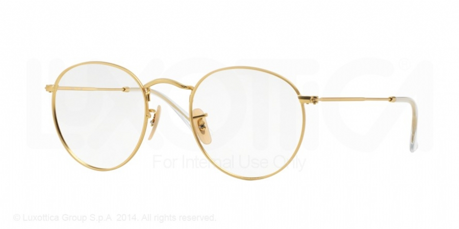 Real Gold Eyeglass Frames : Ray Ban 3447 Eyeglasses