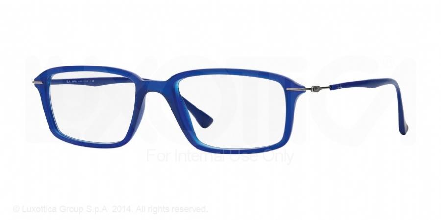 ray ban blauw spiegelglas
