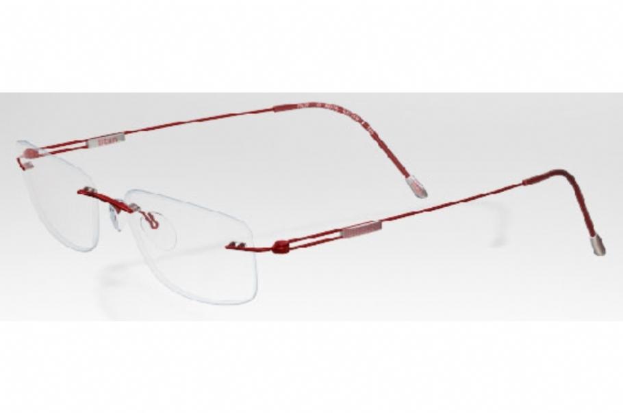 2892a3dab5 Silhouette Rimless 7599 Titan Edge Eyeglasses