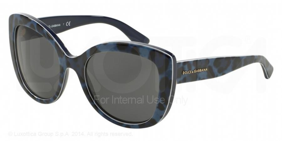 dolce and gabbana rimless bottom eyeglasses blue