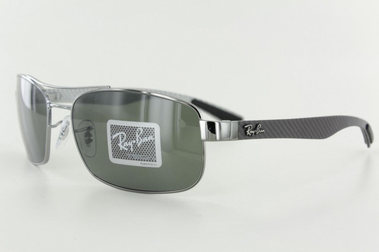 041bc711dc ... 8316 002 N5 CARBON FIBRE POLARIZED Ray Ban 8316 Sunglasses